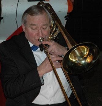 Carl plays bass trombone